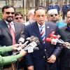 <p>নির্বাচনকালীন সরকারে মন্ত্রী থাকবো : এরশাদ</p>