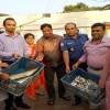 কেন্দুয়ায় পাটেশ্বরী নদীর ৩টি বাঁধ অপসারণ, কারেন্ট জালে আগুন