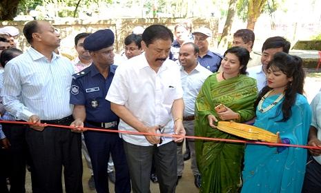 বান্দরবানে আয়কর মেলা ২০১৬'র উদ্বোধন