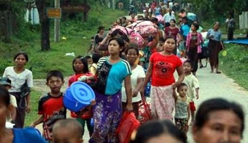 বান্দরবান থেকে রোহিঙ্গা সরানোর সিদ্ধান্ত