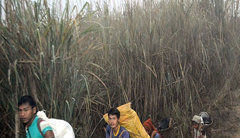মিয়ানমারের প্রলোভনে বাংলাদেশ ছাড়ছে আদিবাসীরা