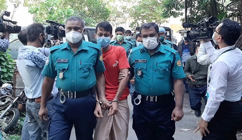 পল্লবী থানায় বিস্ফোরণ : তিনজন ১৪ দিনের রিমান্ডে