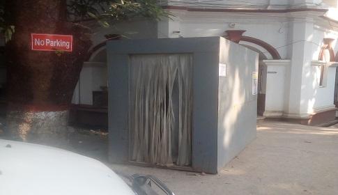 গাজীপুর জেলা প্রশাসক কার্যালয়ের জীবাণুনাশক টানেল দুইটি অকার্যকর