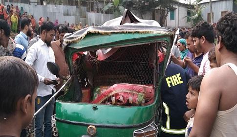 নাগরপুরে অবৈধ ট্রাক্টরের ধাক্কায় সিএনজি চালক নিহত