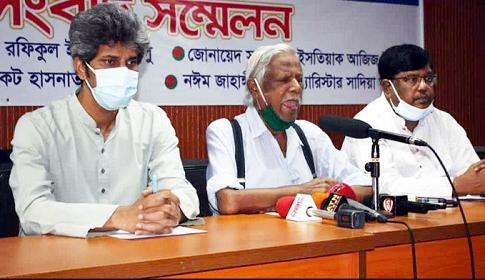 ব্রাহ্মণবাড়িয়ার ঘটনায় তৃতীয় রাষ্ট্রের ইন্ধন : জাফরুল্লাহ