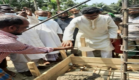 পাথরঘাটায় মুজিব কেল্লা নির্মাণের উদ্বোধন