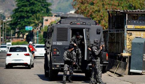 ব্রাজিলের রিও ডি জেনিরো শহরে গোলাগুলিতে ২৫ জন নিহত