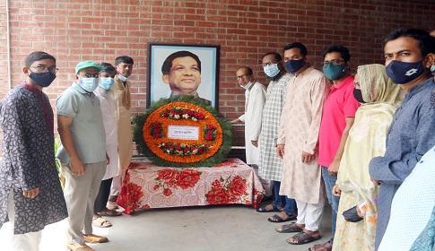 বশেমুরকৃবিতে শহীদ আহ্সান উল্ল্যাহ্ মাস্টারের শাহাদাৎ বার্ষিকী পালিত
