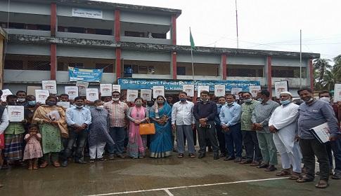 কলাপাড়ায় ১১০ গৃহহীন পরিবার পেলো নতুন ঘর