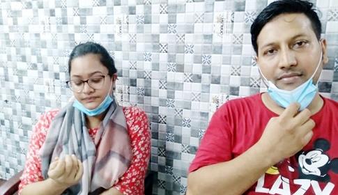 গৃহকর্মী সুইটিকে নির্যাতন : সেই দম্পতি রিমান্ডে