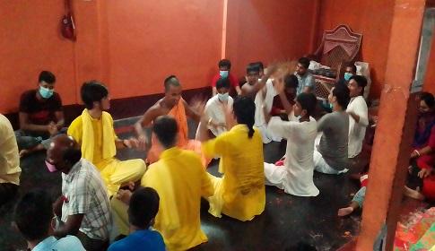 ফরিদপুরে উল্টো রথযাত্রা উৎসব পালিত