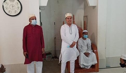 ফরিদপুরে করোনা প্রতিরোধে পুলিশের মসজিদ ভিত্তিক প্রচারণা